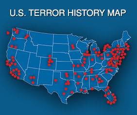 U.S. Terror Map