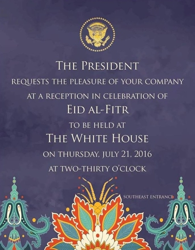 Obama eid celebration again empowers islamists over reformers the white house held a celebration thursday afternoon to honor eid al fitr the end of the muslim holy month of ramadan while no guest list has been made stopboris Choice Image