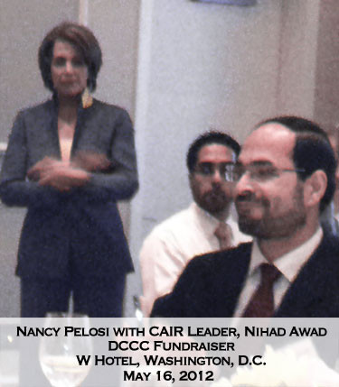 Image result for NANCY PELOSI WITH cair